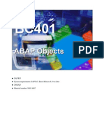 ABAP Objects Training Material