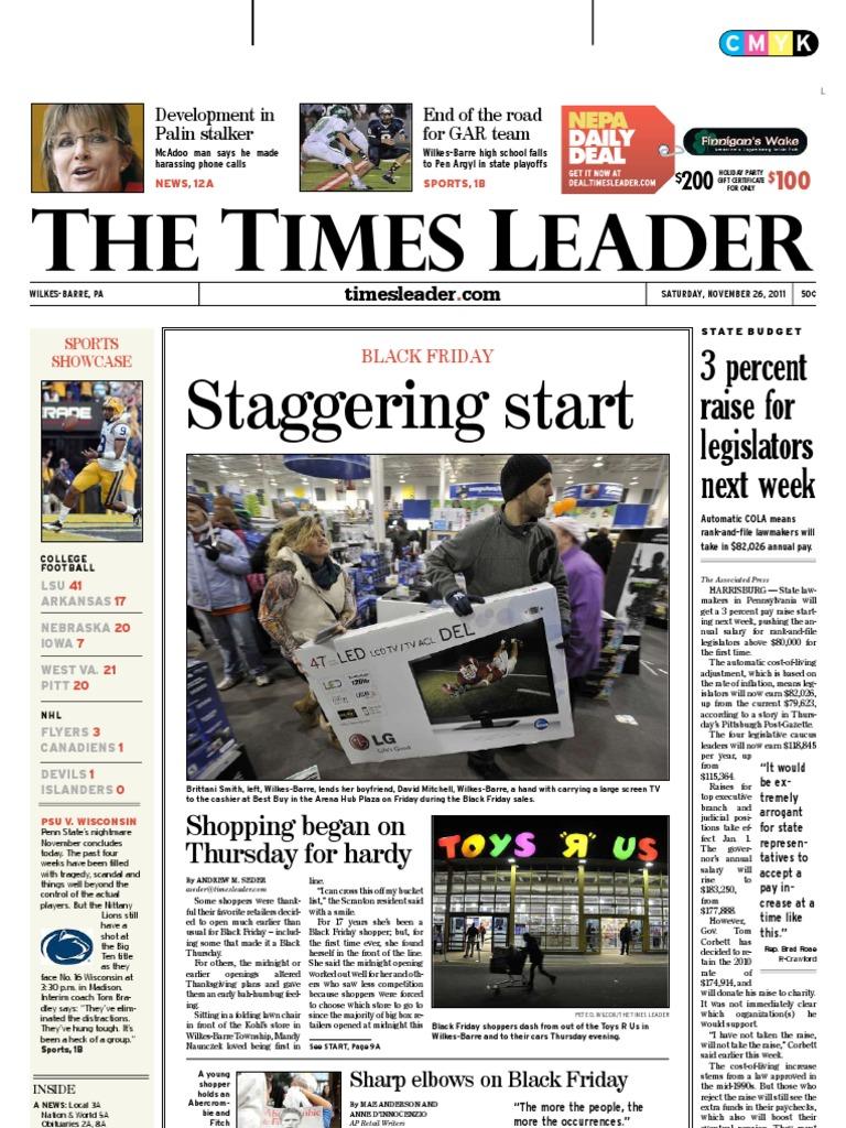 519c2547e4 Times Leader 11-26-2011   Small Business Administration   Iran–Contra Affair
