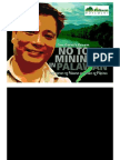 Mining Presentation by Gina Lopez - Yes to Life No to Mining in Palawan Luzon Visayas Mindanao Philippines