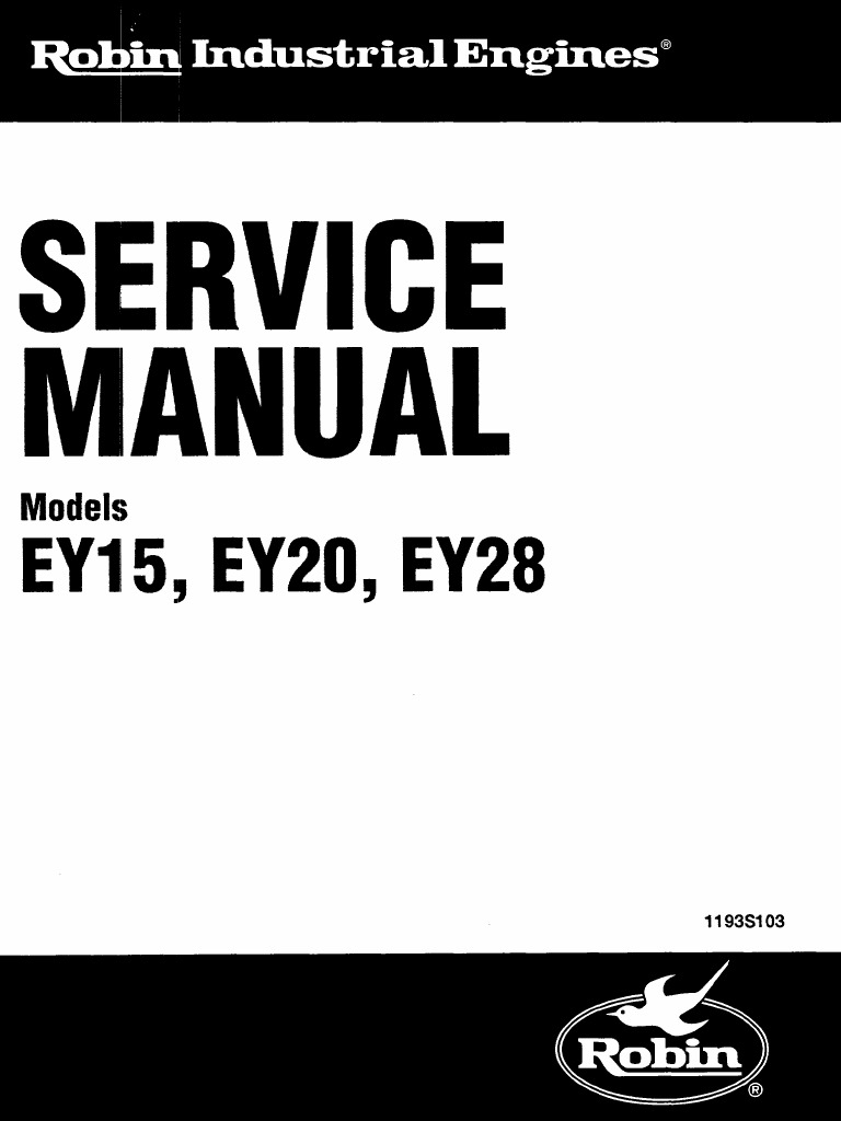 ey28 service manual ignition system piston rh scribd com