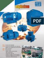 WEG Motores Para Ambientes Explosivos 044 Catalogo Portugues Br