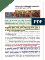 077. Testamentul antiecumenist al Sfântului Teodosie din Pesterile Kievului
