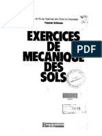 Exercices de mécanique des solsgh - F.Schlosser