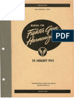 Manual for Fighter Gun Harmonization