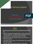 Autonomic Nervous System Lecture 1