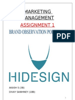 Hide Sign
