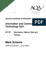 AQA-ICT1-W-MS-JUN08