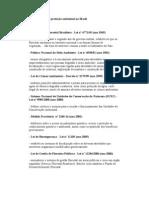 Principais leis de proteção ambiental no Brasil