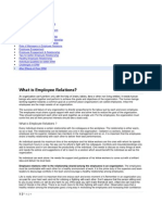 Employee Relation Management