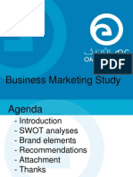 Business Marketing Study