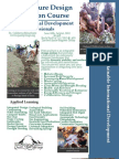 Permaculture Design Certification course for International Development