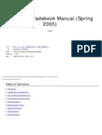 Advanced Gradebook Manual (Spring 2005)