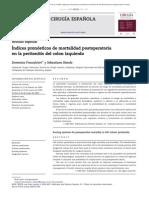 Indice Pronostico en Colon Izquierdo