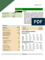 Zacks Investment Research - GOOGLE - Nov 1, 2011