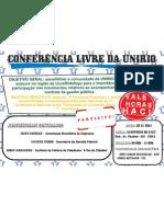 CONFERÊNCIA LIVRE - EVENTO