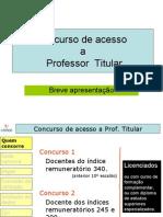 Concurso Prof