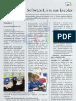 Utilização de Software Livre Nas Escolas