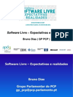 Software Livre Expectativas e Real Ida Des (APDSI)