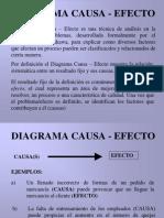 CAUSA-EFECTO