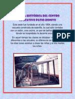 RESEÑA HISTÓRICA DEL CENTRO EDUCATIVO PATIO Bonito
