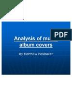 Analysis of Music Album Covers