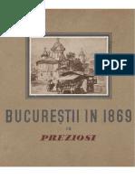 Domenico Preziosi - Bucurestii in 1869