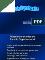 Estudio Organizac Legal Ambiental