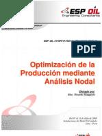 Optimización de La Producción Mediante Análisis Nodal-ESPOIL