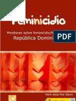 Feminicidio Rep. Dom. Maria Js. Pola Zapico