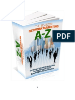 Network Marketing a-Z