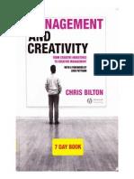 Management & Creativity Chris Bilton
