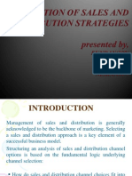 Integration of Sales and Distribution Strategies Final 2003(1)