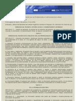 Ley 26.529.Derechos del Paciente en su Relación con los Profesionales e Instituciones de la Salud.