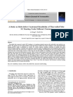 A Study on Multi-Defect Constrained Bendability of Thin-Walled Tube