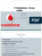 Analysis of Vodafone Essar India