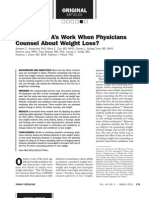 Do the Five A's Work When Physicians