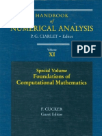 Nice Hand Book -Numerical Analysis - PDF