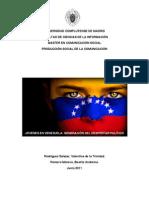 Jóvenes en Venezuela (Valentina Rodríguez y Beatriz Romero)