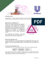 Unilever Sample Test