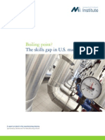 Boiling Point? The skills gap in US manufacturing