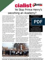 No Academy at Prince Henrys