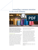 Understanding Customer Retention in the Retail Industry