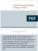 Importance of Telecommunications in Modern World (1)