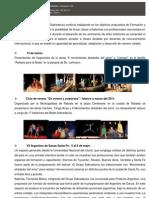 Reseña Sobredanza 2011