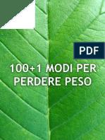 101 Modi Per Perdere Peso