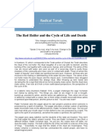 The Red Heifer and the Cycle of Life and Death