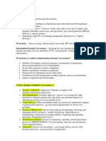 CISM Study Notes