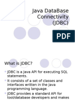Java DataBase Connectivity