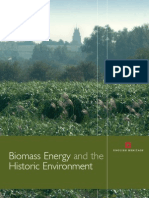 Biomass Energy and the Historic Environment