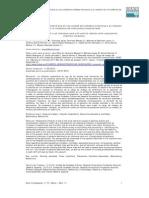 Carga Profesional vs Infecciones Nosocomiales